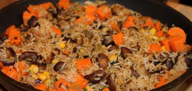 طريقة عمل صينية طبقات الأرز
