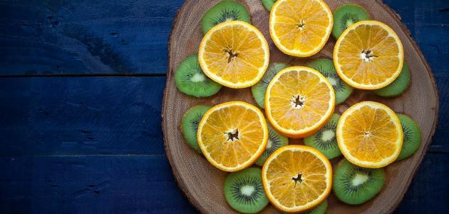 طريقة عمل عصير الكيوي والليمون