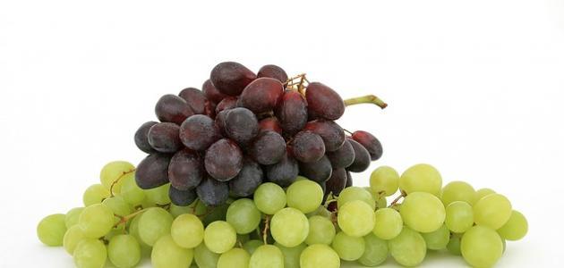 طريقة صنع عصير العنب