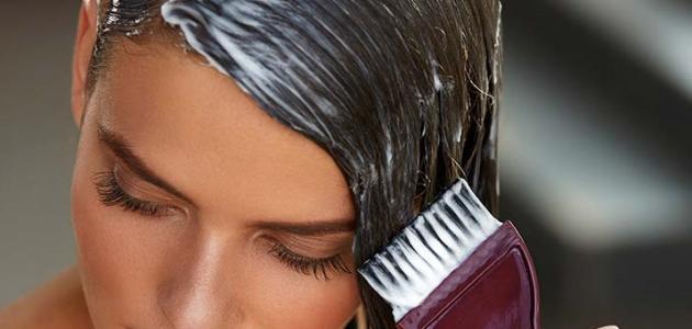 كم مدة الصبغة على الشعر
