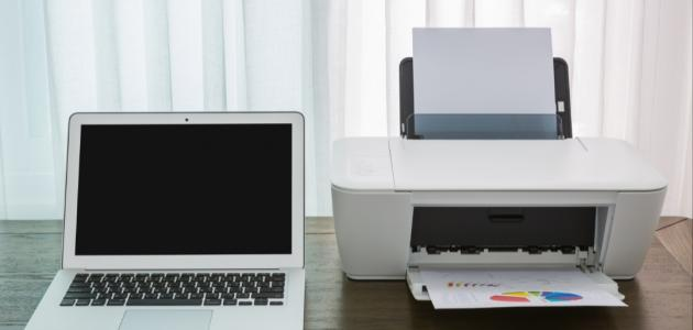 كيف أطبع من الكمبيوتر