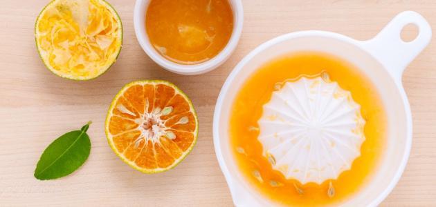 طريقة صنع عصير البرتقال المركز