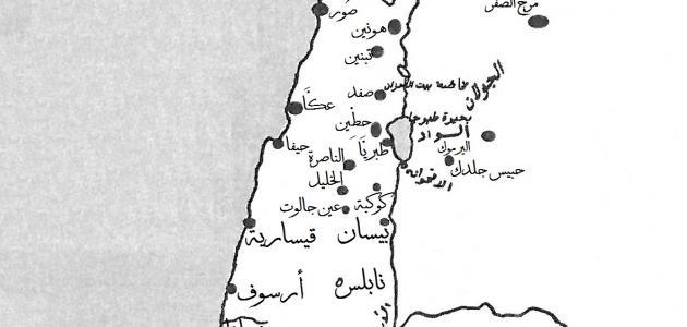 ما هي دول بلاد الشام