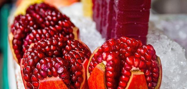 فوائد الرمان لمرضى السكري