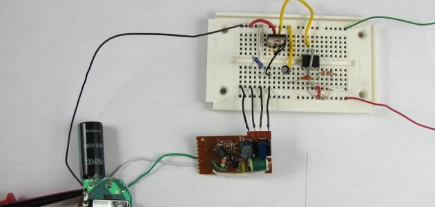 كيفية صنع دارة كهربائية