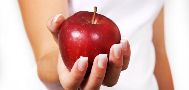فوائد التفاح للحامل في الشهر التاسع