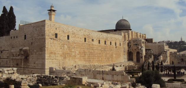 كم باب للمسجد الأقصى
