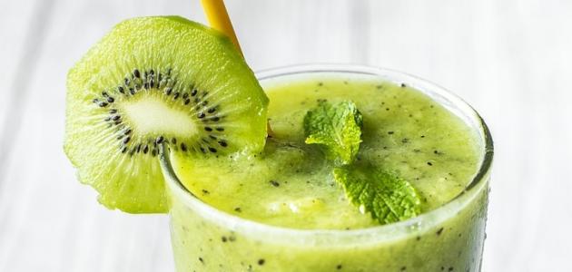 طريقة عمل عصير الأناناس والكيوي للتخسيس