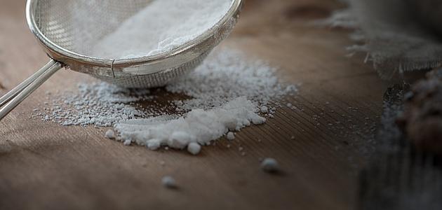 طريقة عمل سكر البودرة