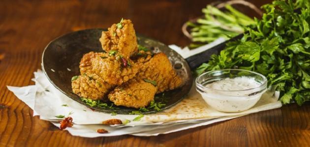 أسهل طريقة لعمل دجاج مقرمش