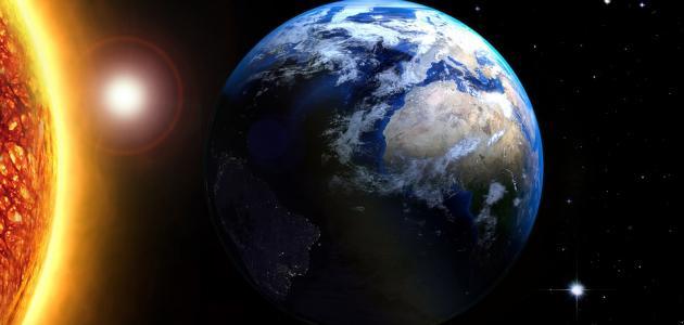 بحث عن دوران الأرض حول الشمس