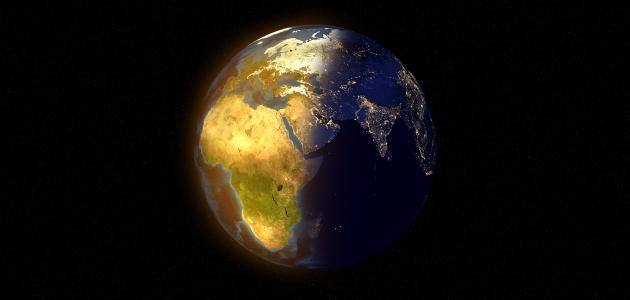 بحث عن دوران الأرض حول نفسها