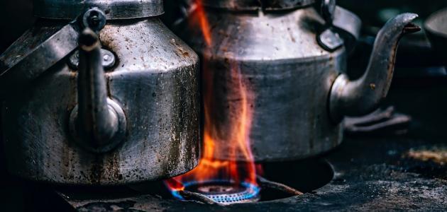 بحث عن درجة الحرارة والطاقة الحرارية