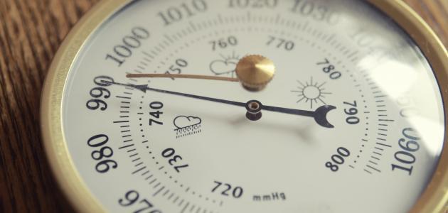 أشكال الضغط الجوي