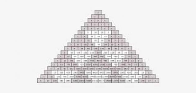 بحث عن مثلث باسكال