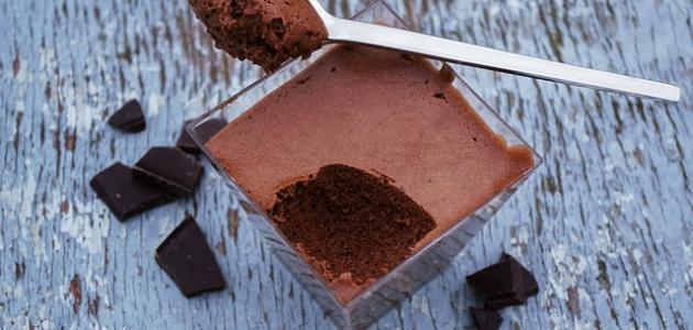 أسهل طريقة لعمل موس الشوكولاتة