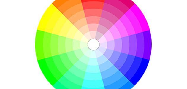 بحث عن دائرة الألوان
