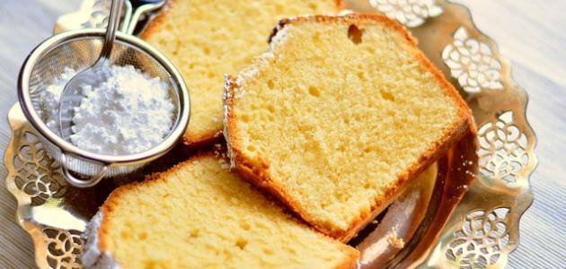 أسهل طريقة لعمل الكيك بدون حليب