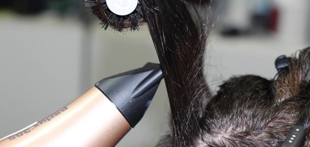 أضرار حرق الشعر