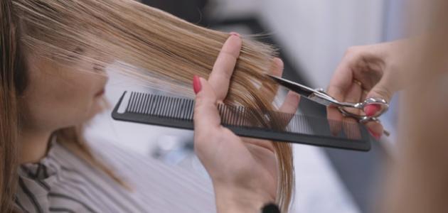 أسهل طريقة لقص الشعر مدرج