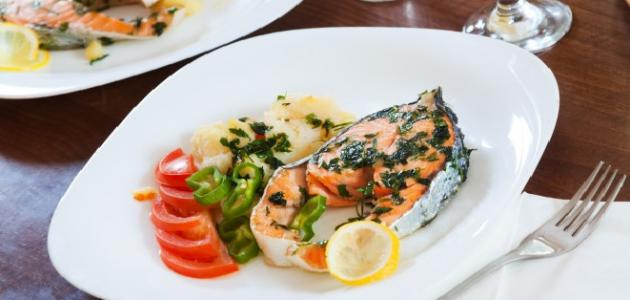 أطباق أسماك شهية