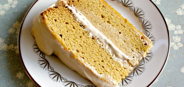 أسهل طريقة لكيكة الزعفران
