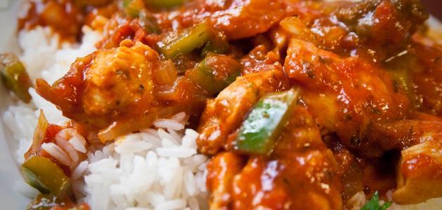 أطباق أرز في الفرن