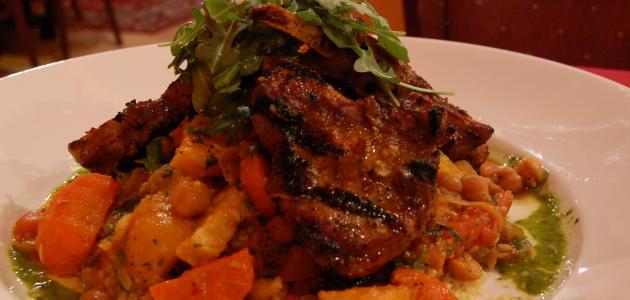 أطباق اللحم المغربية