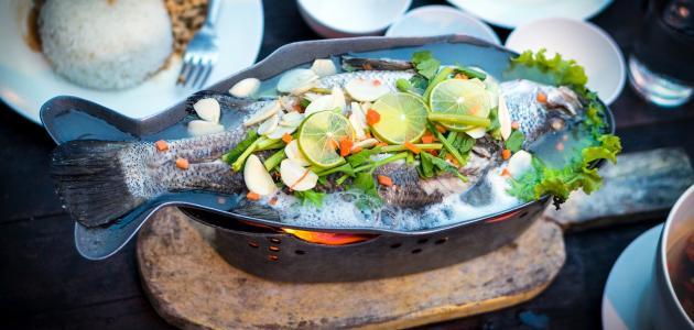 أطباق السمك الجزائرية