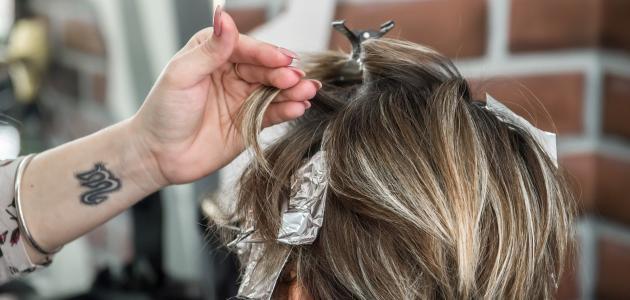 أسرع طريقة لإزالة صبغة الشعر