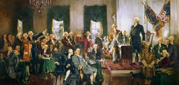 أول رئيس لأمريكا