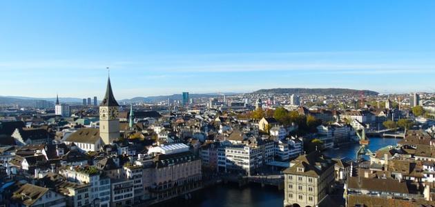 أكبر مدينة في سويسرا من حيث السكان
