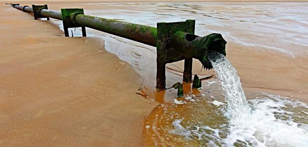حل مشكلة تلوث المياه