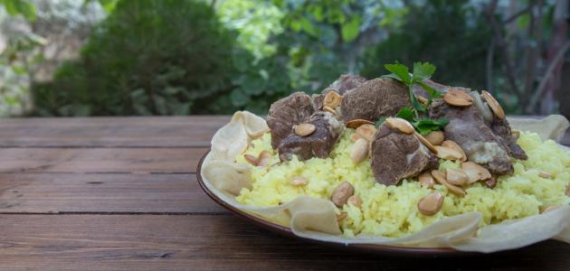 أطباق أردنية
