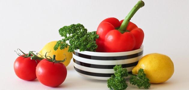 أسماء الخضروات