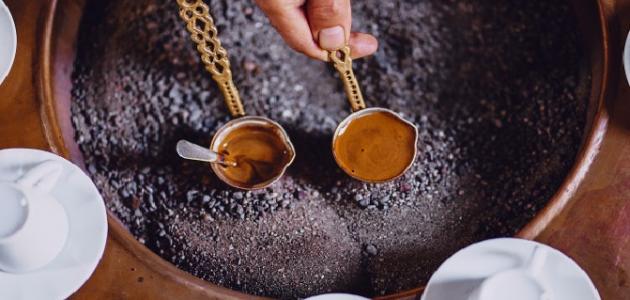 كيفية عمل القهوة بوجه
