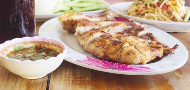 أطباق دجاج دايت