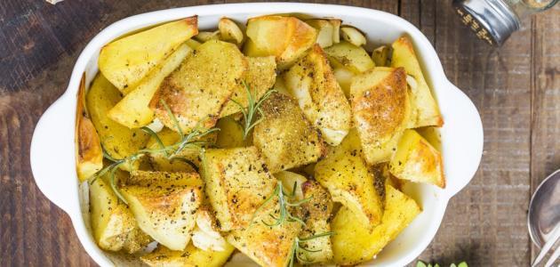 أطباق بطاطس بدون لحم