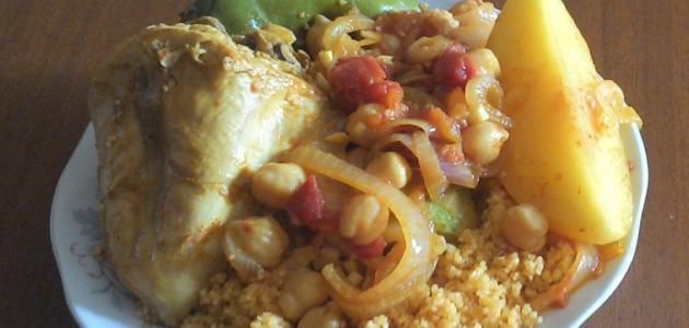 أطباق تونسية بالدجاج