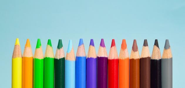 تحليل الشخصية من الألوان