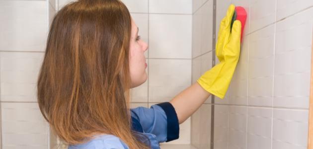أفضل طريقة لتنظيف الجدران