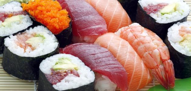أطباق سوشي