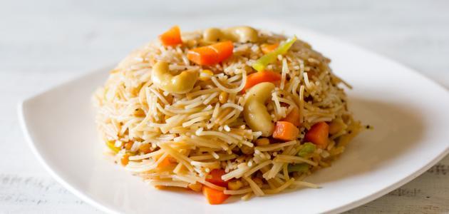 أطباق شعيرية الأرز