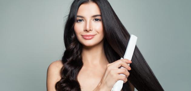 أفضل طرق تمليس الشعر المجعد