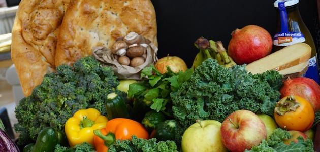 تصنيف الأغذية إلى مجموعات