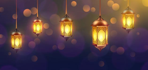 انشاء عن شهر رمضان المبارك
