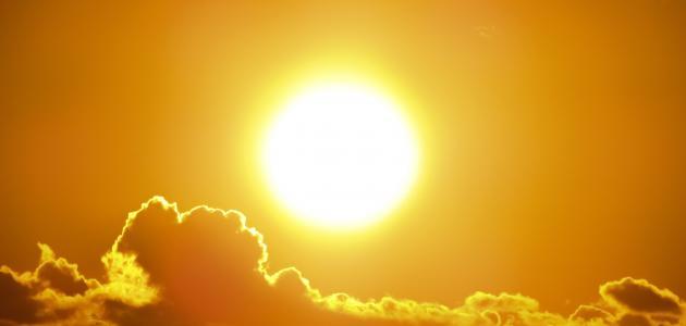 لماذا الشمس حارة