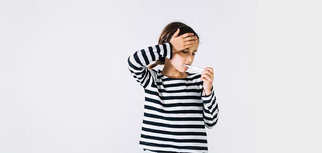 التهاب الحلق عند الأطفال
