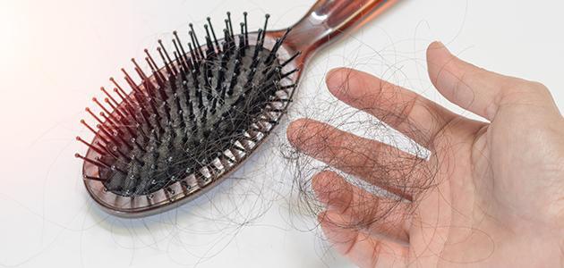 حل لتساقط الشعر