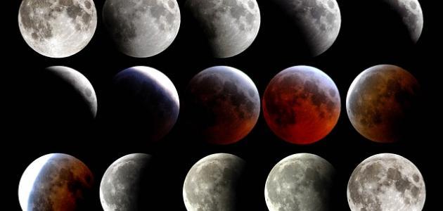 أسباب خسوف القمر